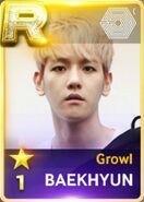 Baekhyun Growl