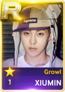 Growl Xiumin
