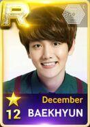 Baekhyun December