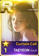 Taeyeon Curtain Call Voca