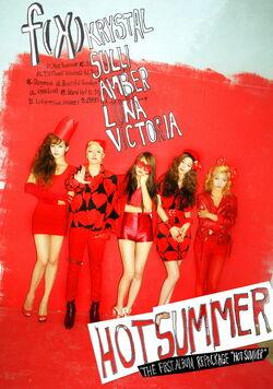 Hot Summer CD Cover