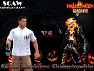 HalloweenManik2K15SCAWHardcoreChampionship