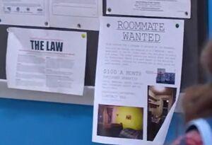 S02E09-Sal room mate flyer