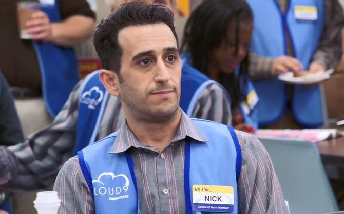 S02E08-Nick in break room