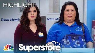 Sandra Finally Gets Some Respect - Superstore (Episode Highlight)