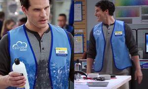 S02E08-Adam shampoo goof