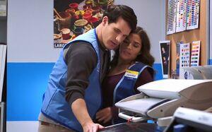 S02E08-Adam and Amy in photo lab