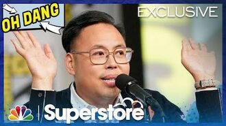 Superstore Panel Highlight Nico Santos Talks About Mateo - Comic-Con 2019 (Digital Exclusive)