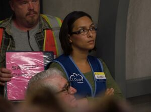 S03E02-Sarah in Storm Shelter