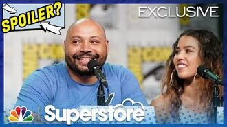 Superstore Panel Highlight Nichole Bloom Reveals a Spoiler - Comic-Con 2019 (Digital Exclusive)