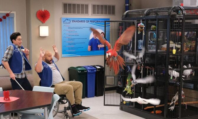 S04E13-Garrett releases birds