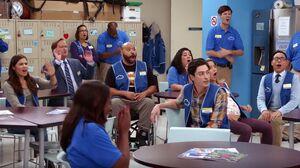 S01E02-Staff react to video