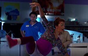 S01E09-Travis watching Cheyenne dance