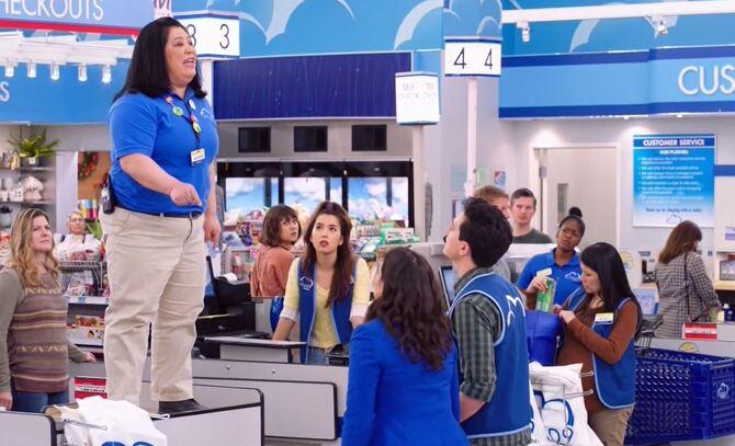 S04E21-Sandra on checkout