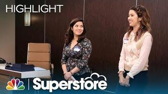 Amy and Cheyenne Have Some New Ideas - Superstore (Episode Highlight)