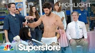 A Stripper Grinds on Amy - Superstore (Episode Highlight)