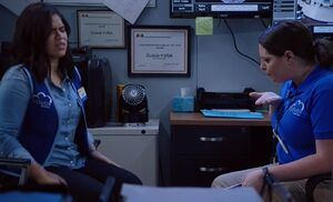 S03E14-Amy Dina Surv Office