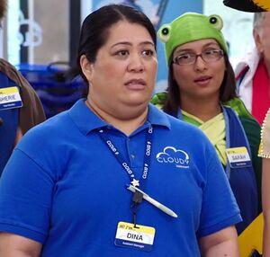 S02E06-Sandra as Dina