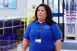 S02E05-Sandra bitten by hornets