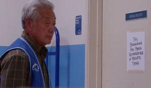 S01E10-Brett locked out of break room