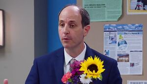 S02E02-Jeff with flowers