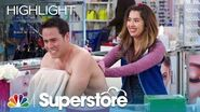 Cheyenne Gives Marcus a Tattoo - Superstore (Episode Highlight)