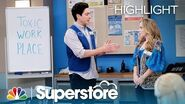 Glenn's Toxic Workplace Meeting - Superstore (Episode Highlight)