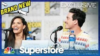 Superstore Panel Highlight What's Next for Amy and Jonah? - Comic-Con 2019 (Digital Exclusive)