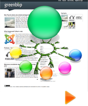 Greenblip as central hub