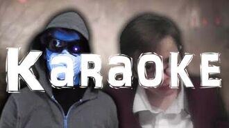KARAOKE R.L. Stine vs MrCreepypasta. SuperThingsOnCups Rap Battles