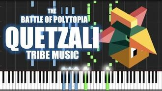 QUETZALI TRIBE MUSIC - The Battle of Polytopia - PIANO TUTORIAL