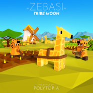 Zebasi Tribe Moon