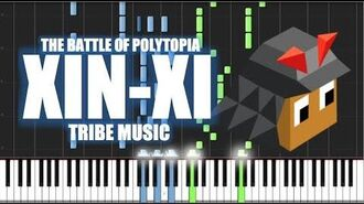 XIN-XI TRIBE MUSIC - The Battle of Polytopia - PIANO TUTORIAL