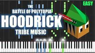 HOODRICK TRIBE MUSIC - The Battle of Polytopia Theme Songs - PIANO TUTORIAL