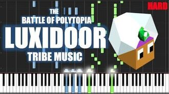 LUXIDOOR TRIBE MUSIC - The Battle of Polytopia - HARD PIANO TUTORIAL