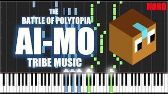 AI-MO TRIBE MUSIC - The Battle of Polytopia - HARD Piano Tutorial