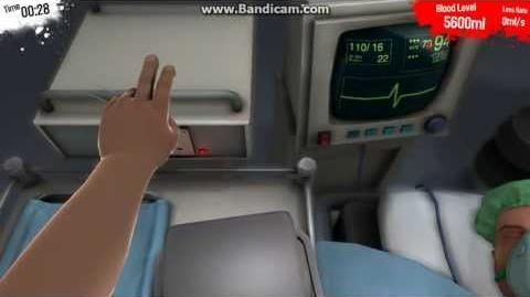Surgeon simulator electrocuted
