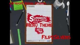 Surgeon Simulator 2013 Menu Theme