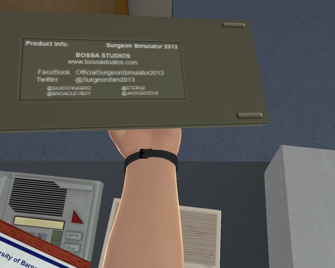 Easter Eggs Surgeon Simulator 2013 Wiki Fandom Powered By Wikia Egg Circuit Will Makes Things