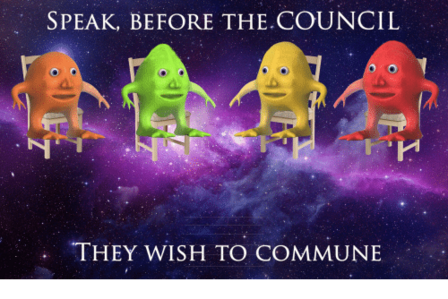 Speak Before the Council