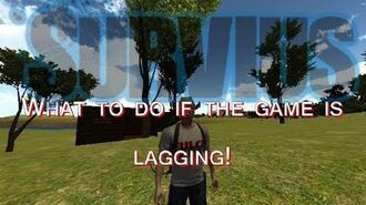Survius - What to do if the game is lagging!