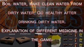 Survius - Boil water, make clean water from dirty water.