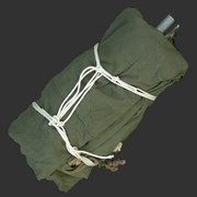 Tent folded