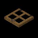 Trampilla de madera