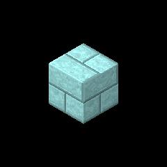 Ladrillo de piedra cian pálido