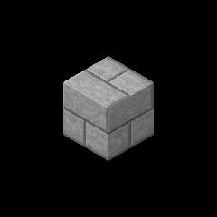 Ladrillo de piedra gris claro