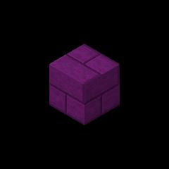 Ladrillo de piedra púrpura