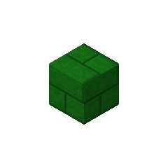 Ladrillo de piedra verde