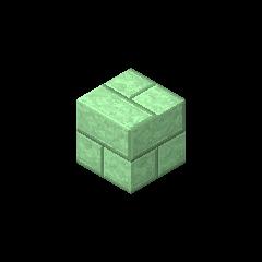 Ladrillo de piedra verde pálido