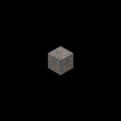 Antigua textura del mineral de hierro